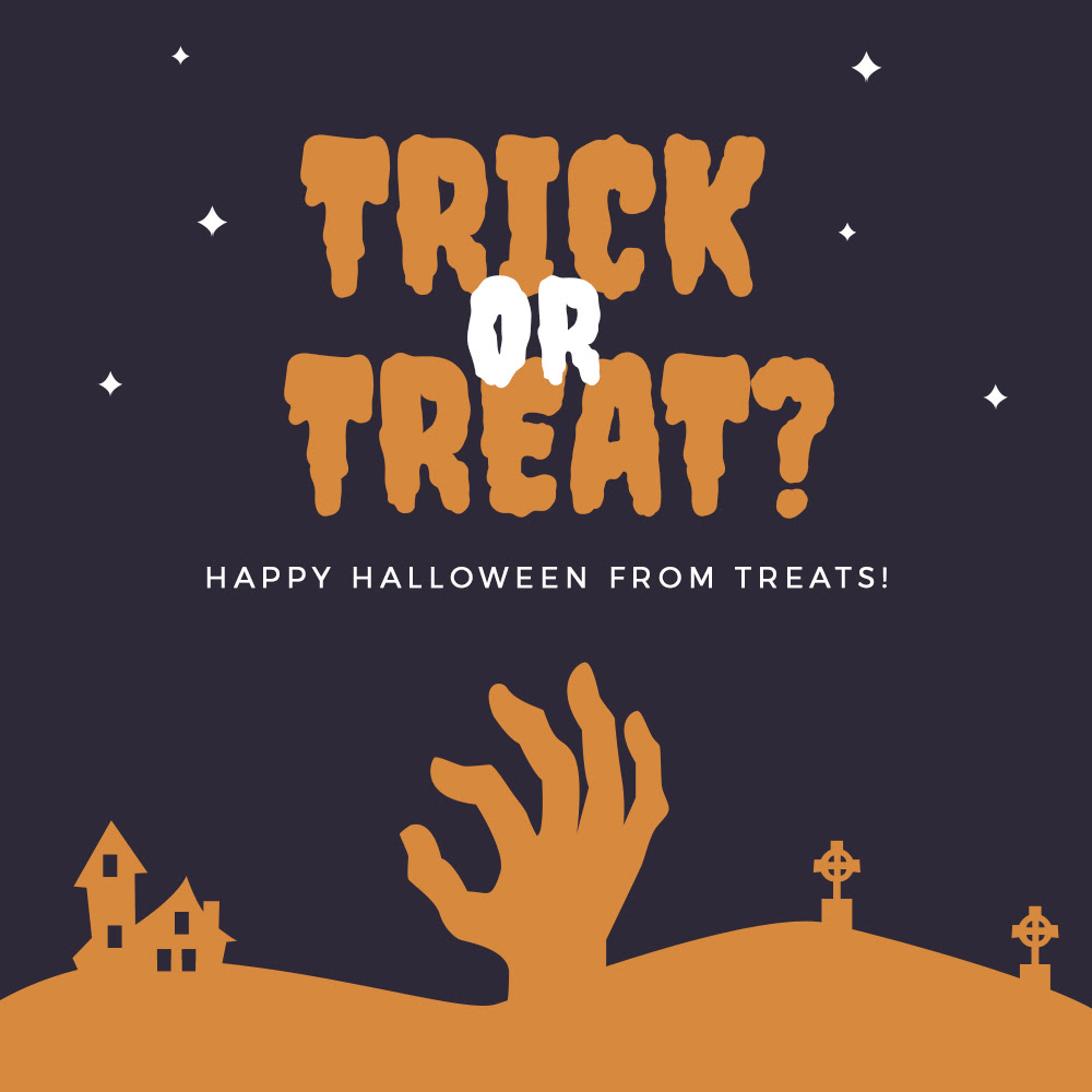 Treats Box Halloween Sale: Get 25% Off Your First Box!