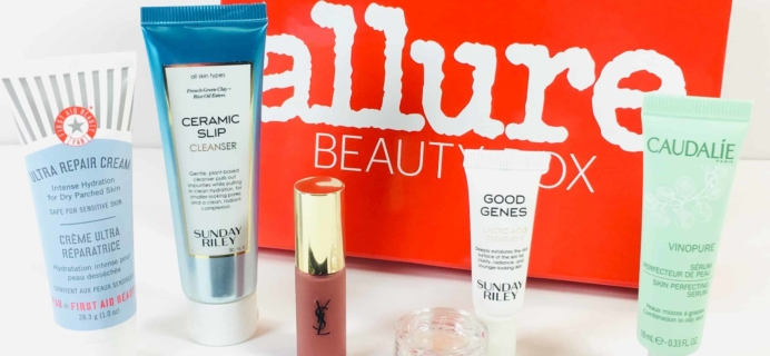 Allure Beauty Box October 2018 Subscription Box Review & Coupon