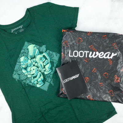 Loot Tees October 2018 Review & Coupon