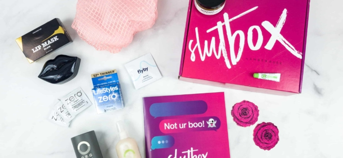 Slutbox by Amber Rose October 2018 Subscription Box Review {Adult & NSFW}