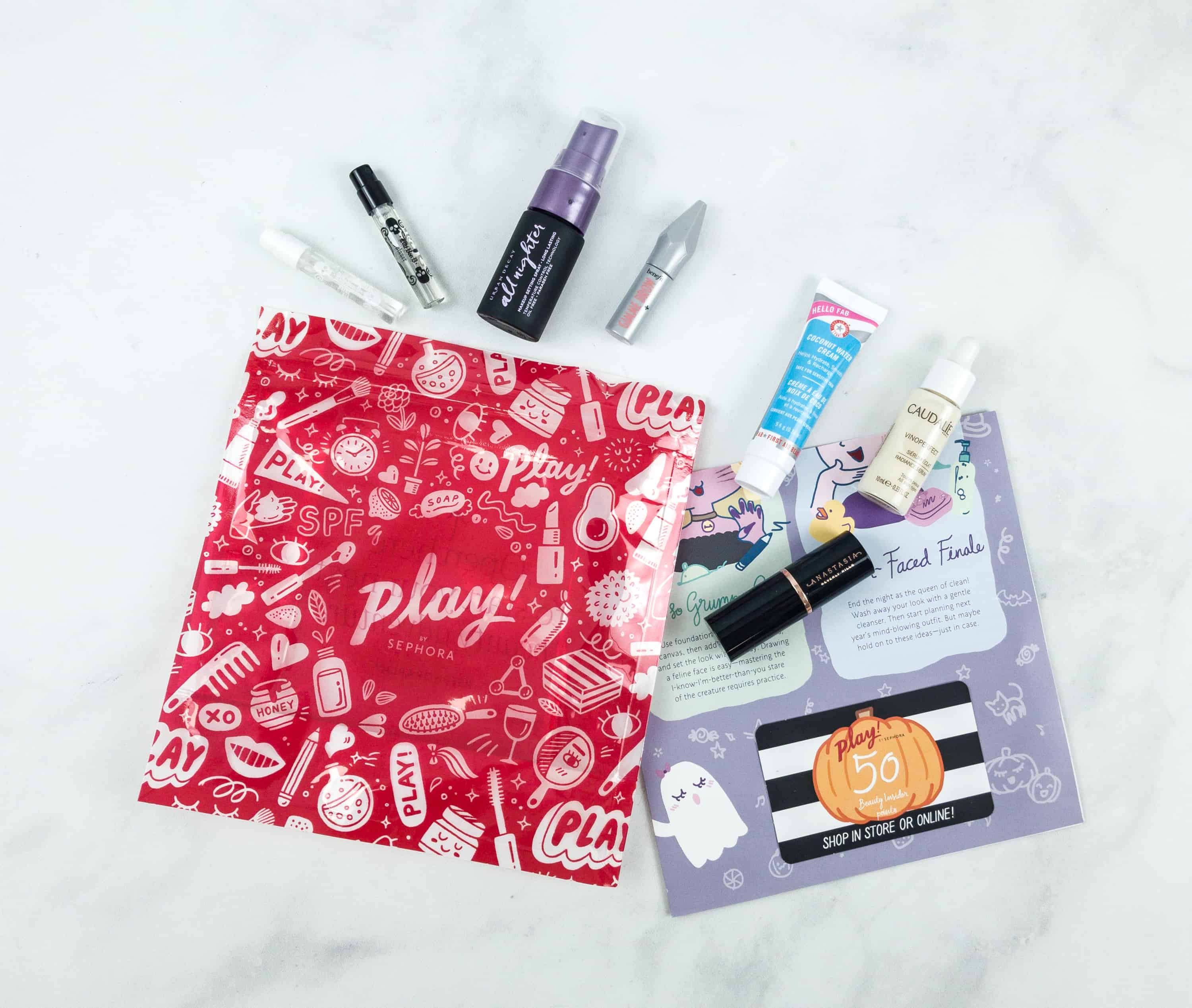 Play! by Sephora October 2018 Subscription Box Review