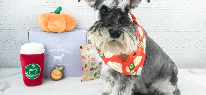 The Dapper Dog Box October 2018 Subscription Box Review + Coupon