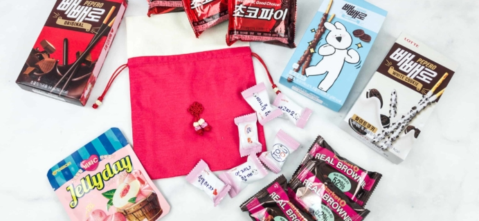Korean Snack Box November 2018 Subscription Box Review + Coupon