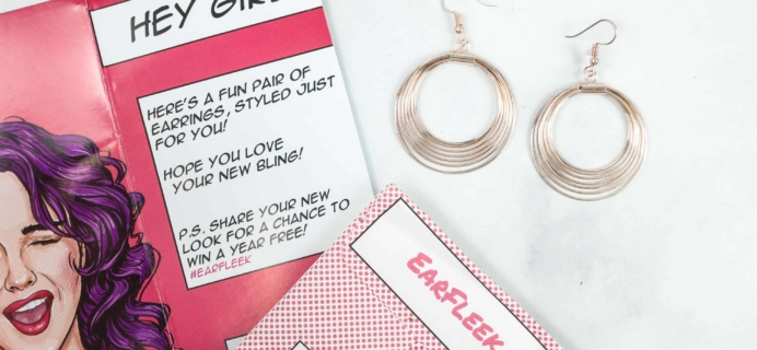 EarFleek Cyber Monday Coupon: Get 50% OFF your first month! $1.75 Shipped!