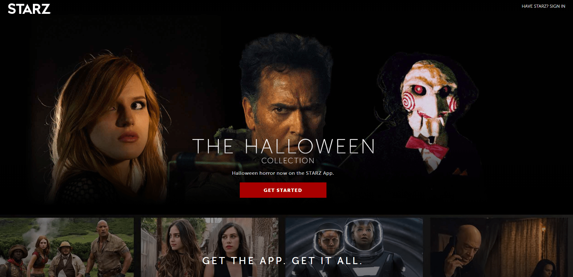 STARZ Halloween Collection Available Now + Coupon!