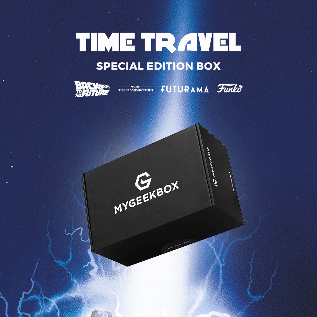 My Geek Box Special Edition Time Travel Box Available Now + Spoilers!