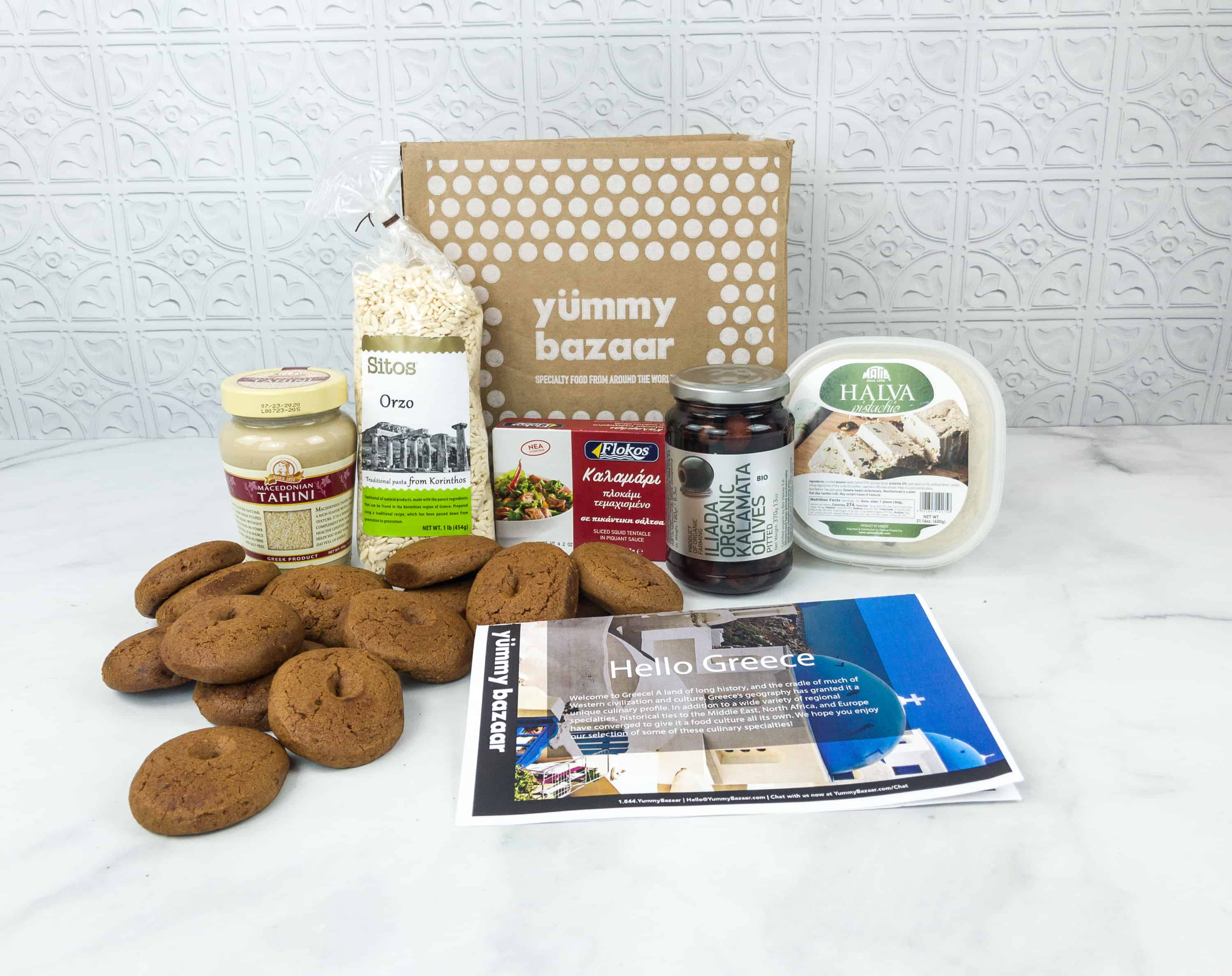 October 2018 Yummy Bazaar Full Experience Subscription Box Review