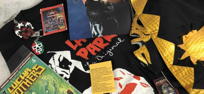 Lucha Loot Subscription Box Review & Coupon – August-September 2018