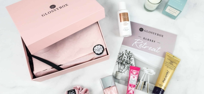 October 2018 GLOSSYBOX Subscription Box Review