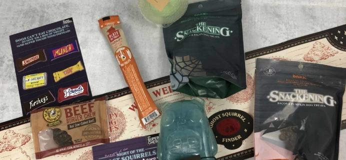 Super Chewer October 2018 Subscription Box Review