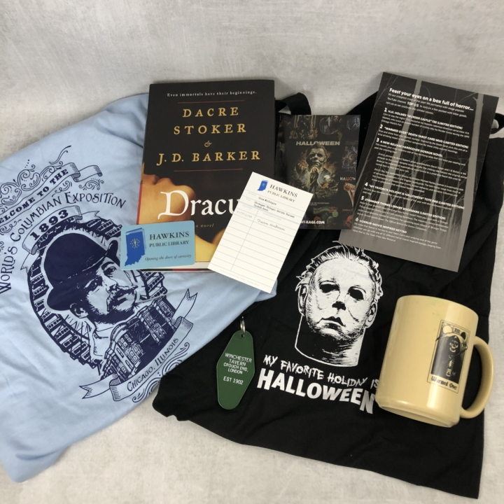 Creepy Crate October 2018 Subscription Box Review Coupon