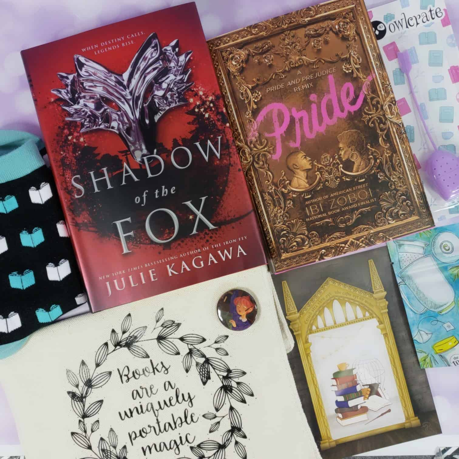 OwlCrate October 2018 Subscription Box Review + Coupon