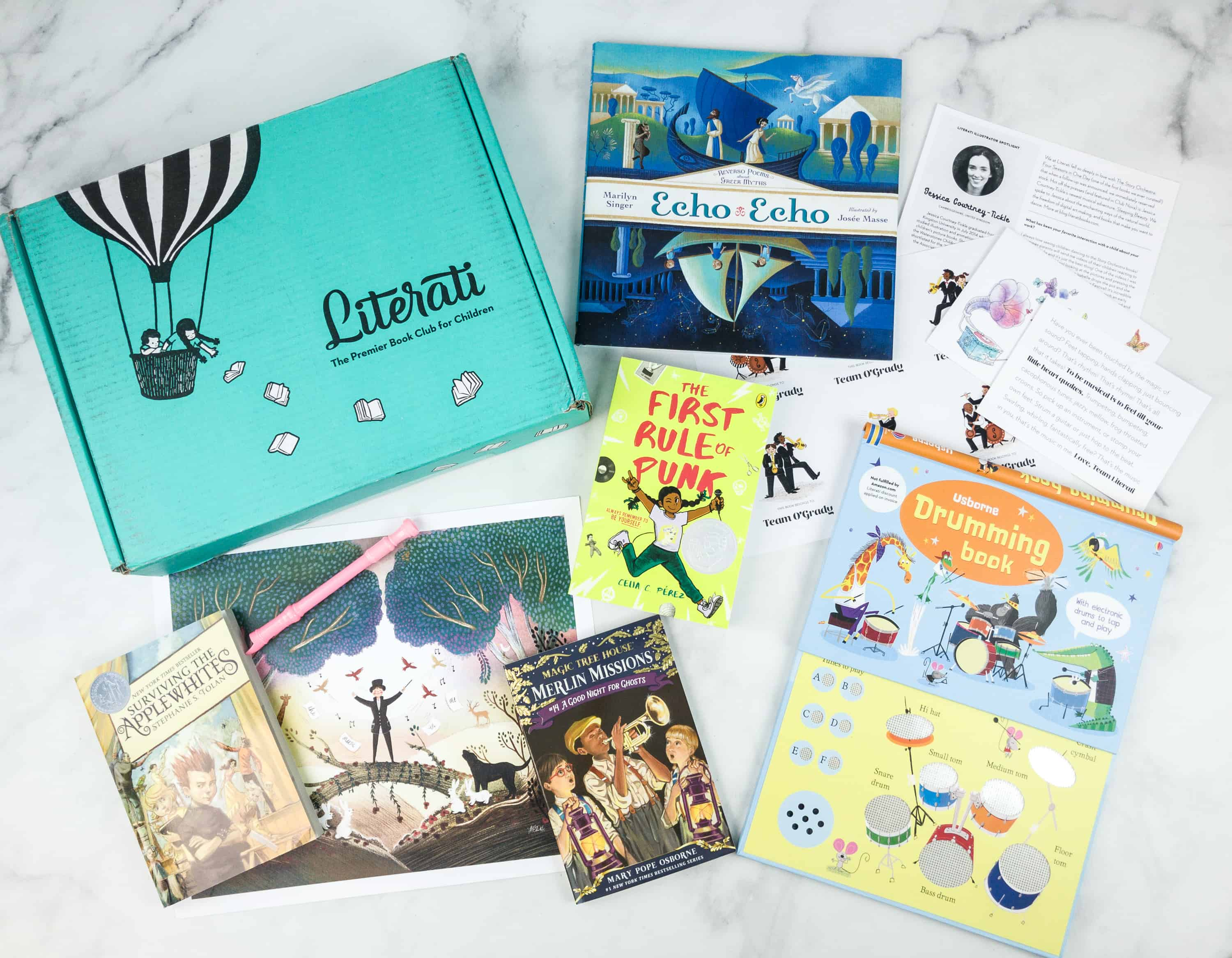 Literati Club Sage Box Review + Coupon – October 2018