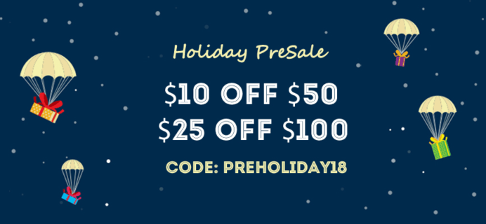 Apollo Surprise Box Early Bird Holiday Sale: Get Up To $25 Off Shop Orders & More!