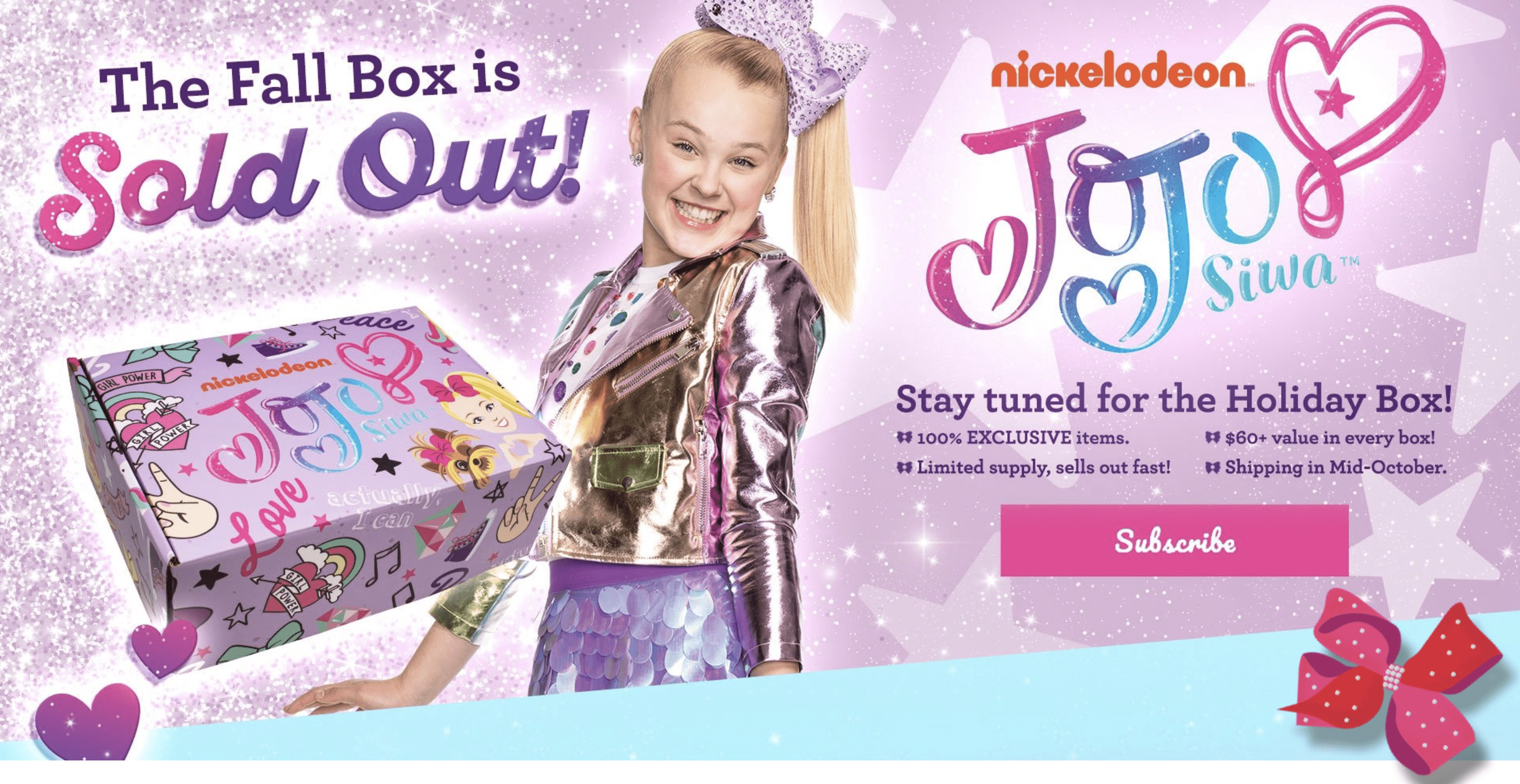 The Jojo Siwa Fall 2018 Box Full Spoilers!