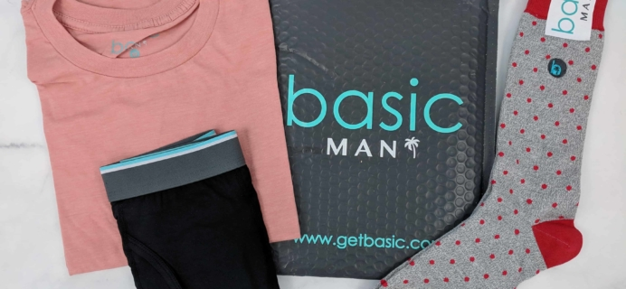 Basic MAN Subscription Box Review + Buy One Get One FREE Coupon – October 2018