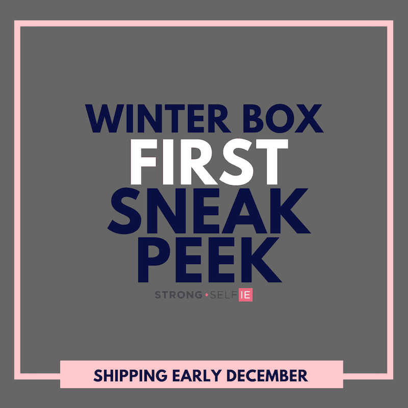 STRONG self(ie) Box Winter 2018 Spoiler #2 + Coupon!