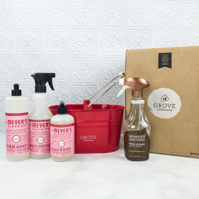 Grove Collaborative Subscription Box Review & Coupon – November 2018