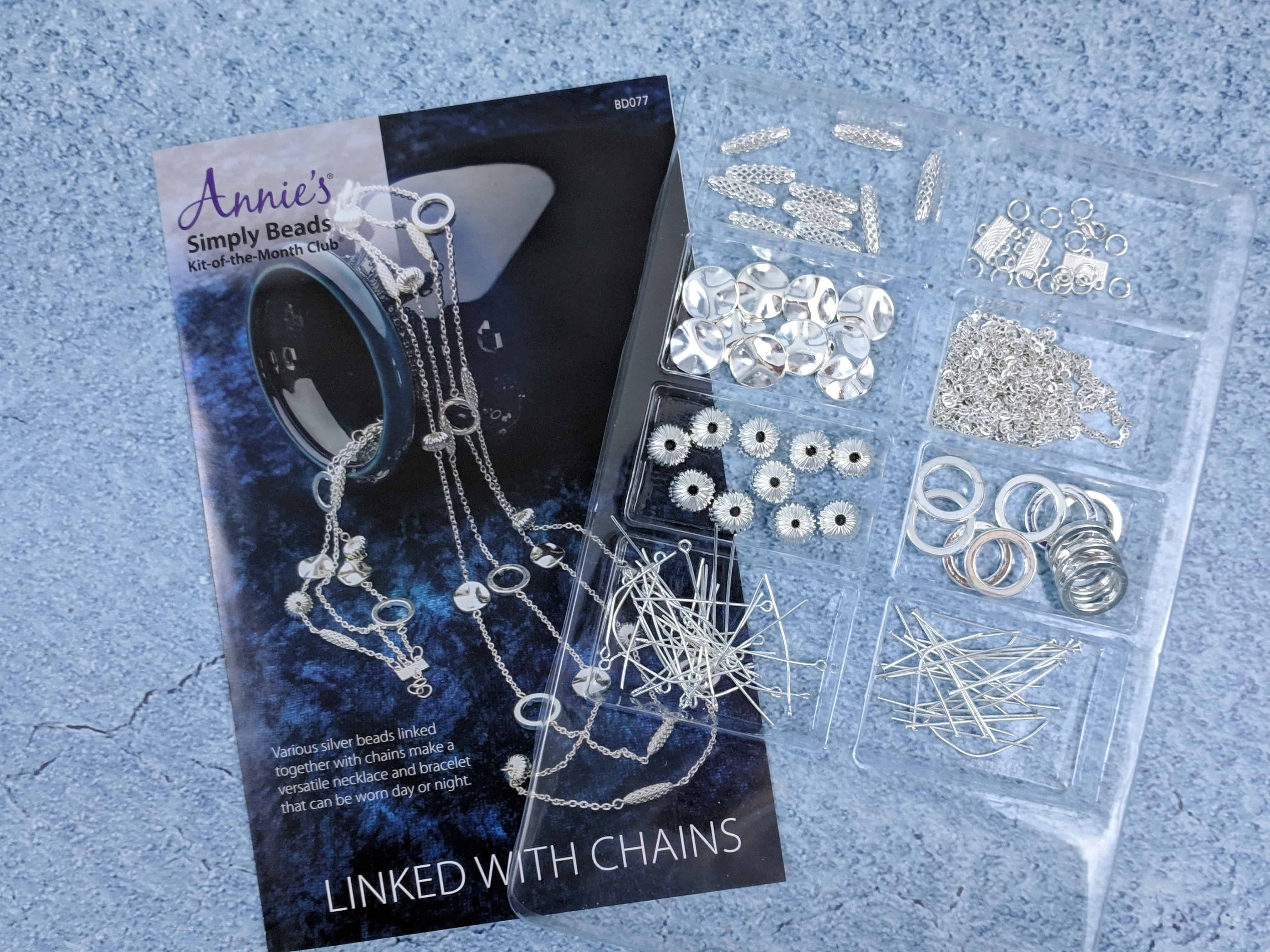 Annie's Simply Beads Kit-of-the-Month Club Subscription Box Review – October 2018