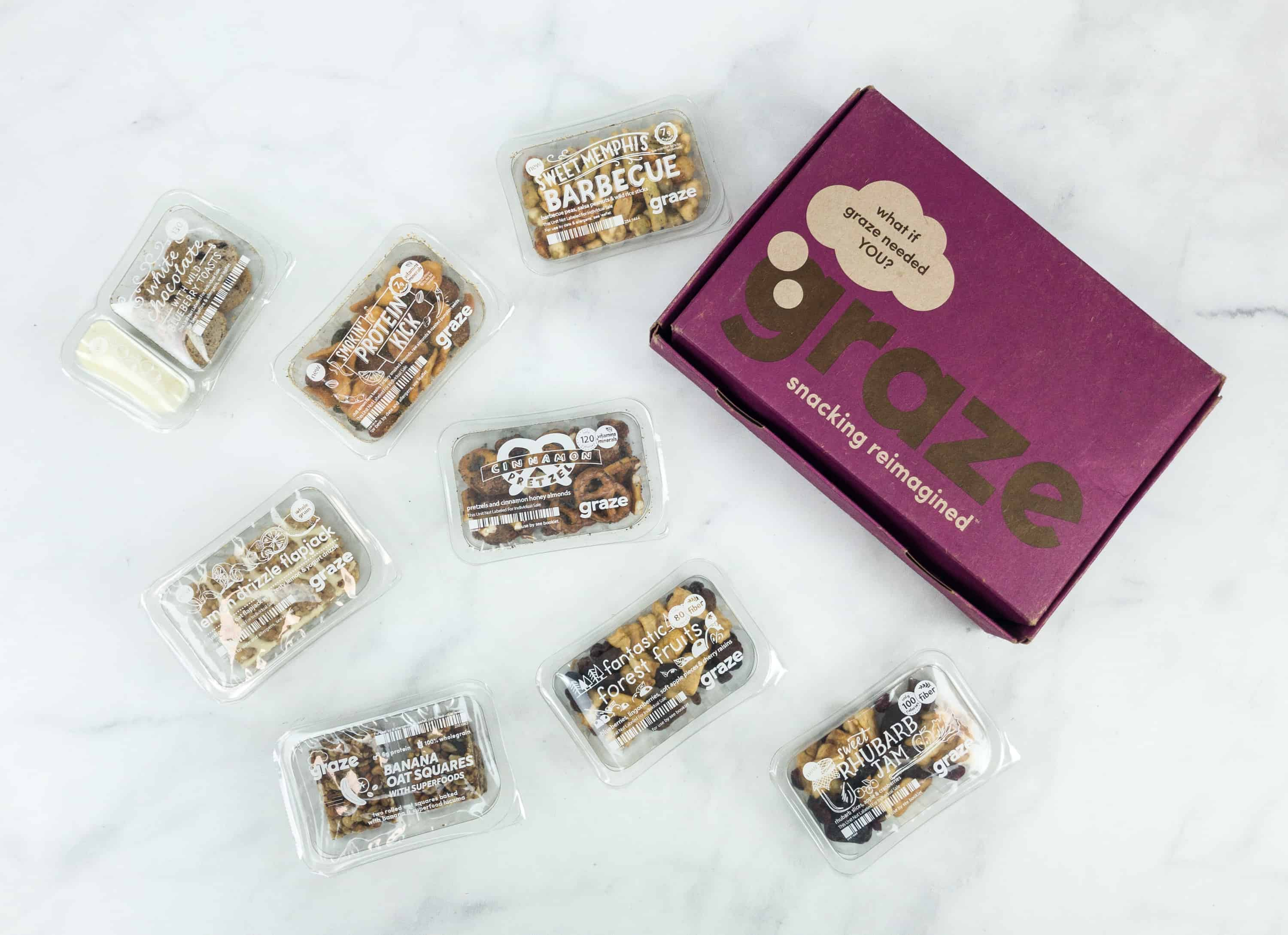 Graze Variety Box Review & Free Box Coupon – November 2018