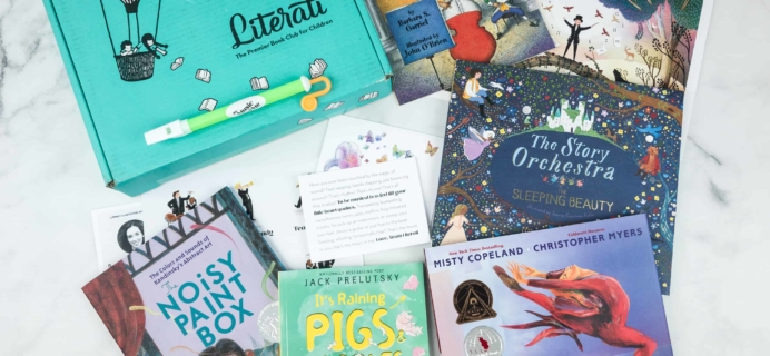 Literati Club Nova Box Review + Coupon – October 2018