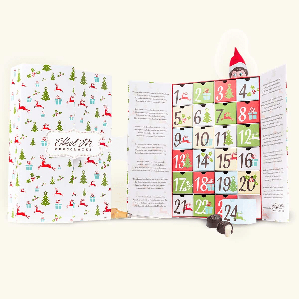 2019 Ethel M Chocolates Advent Calendar Available Now!