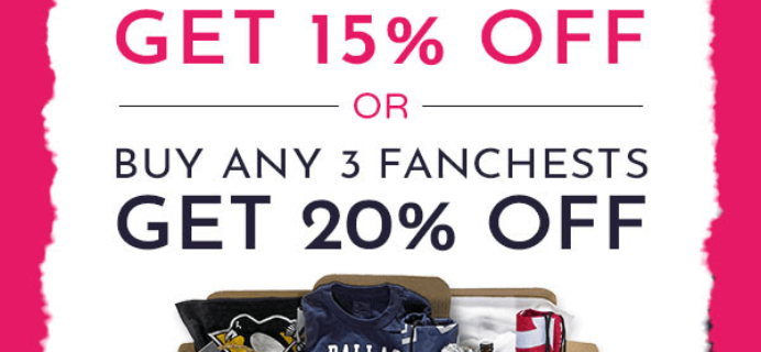 Fanchest Coupon: Get Up To 20% Off!