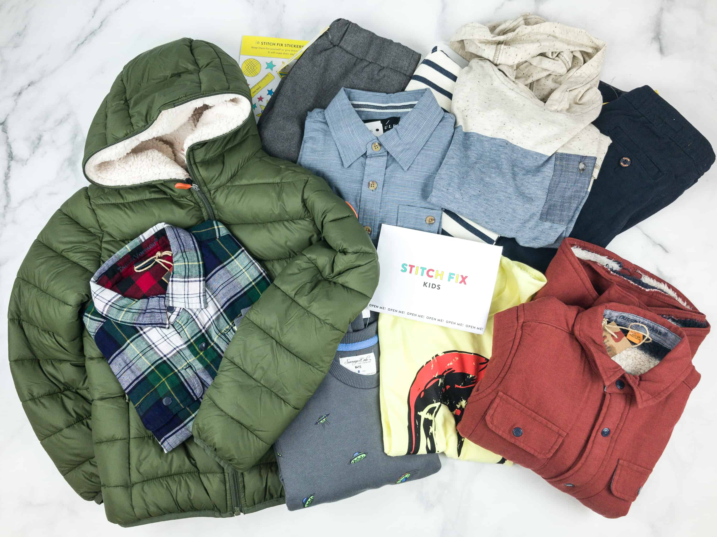 Stitch Fix Kids Review – Boys October 2018