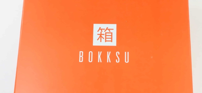 Bokksu October 2018 Subscription Box Review + Coupon