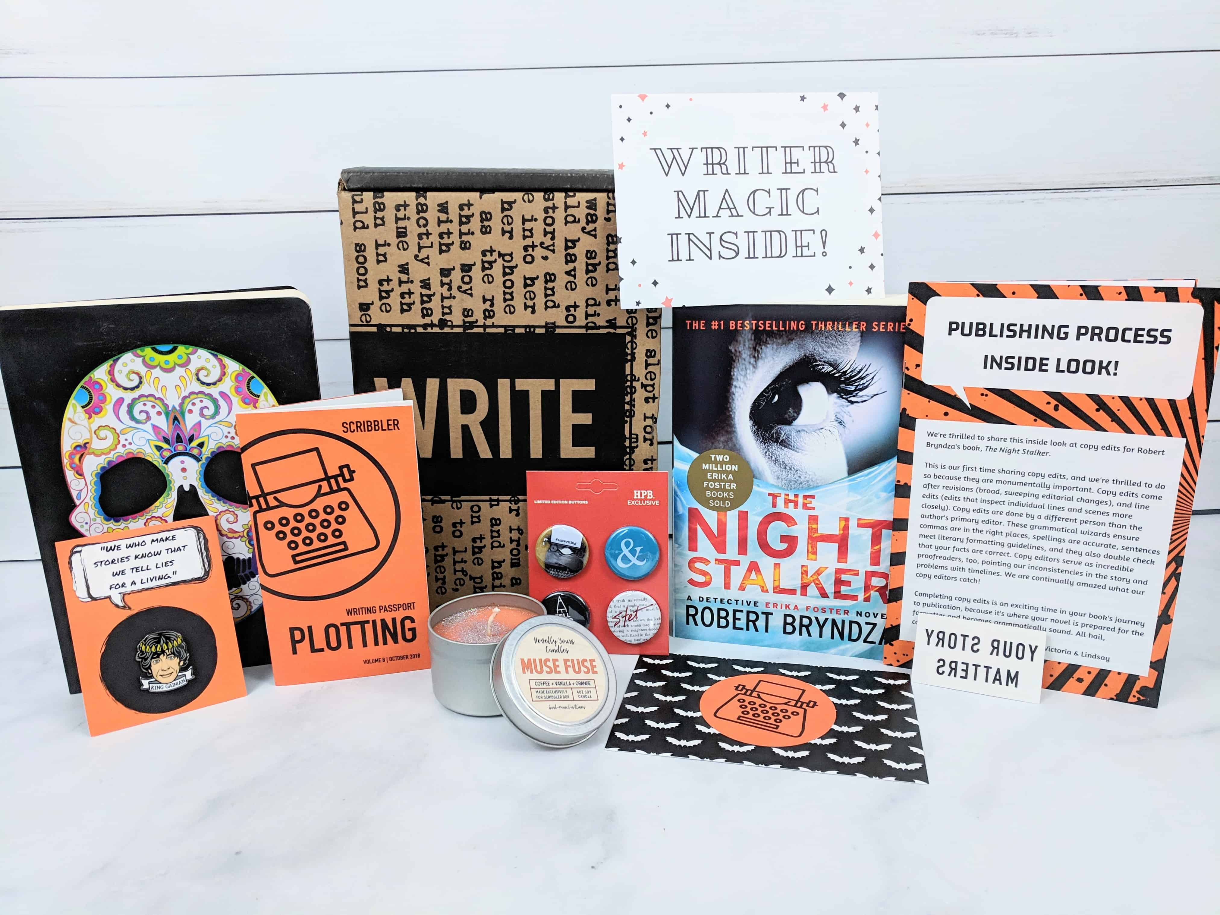 Scribbler Subscription Box Review – October 2018