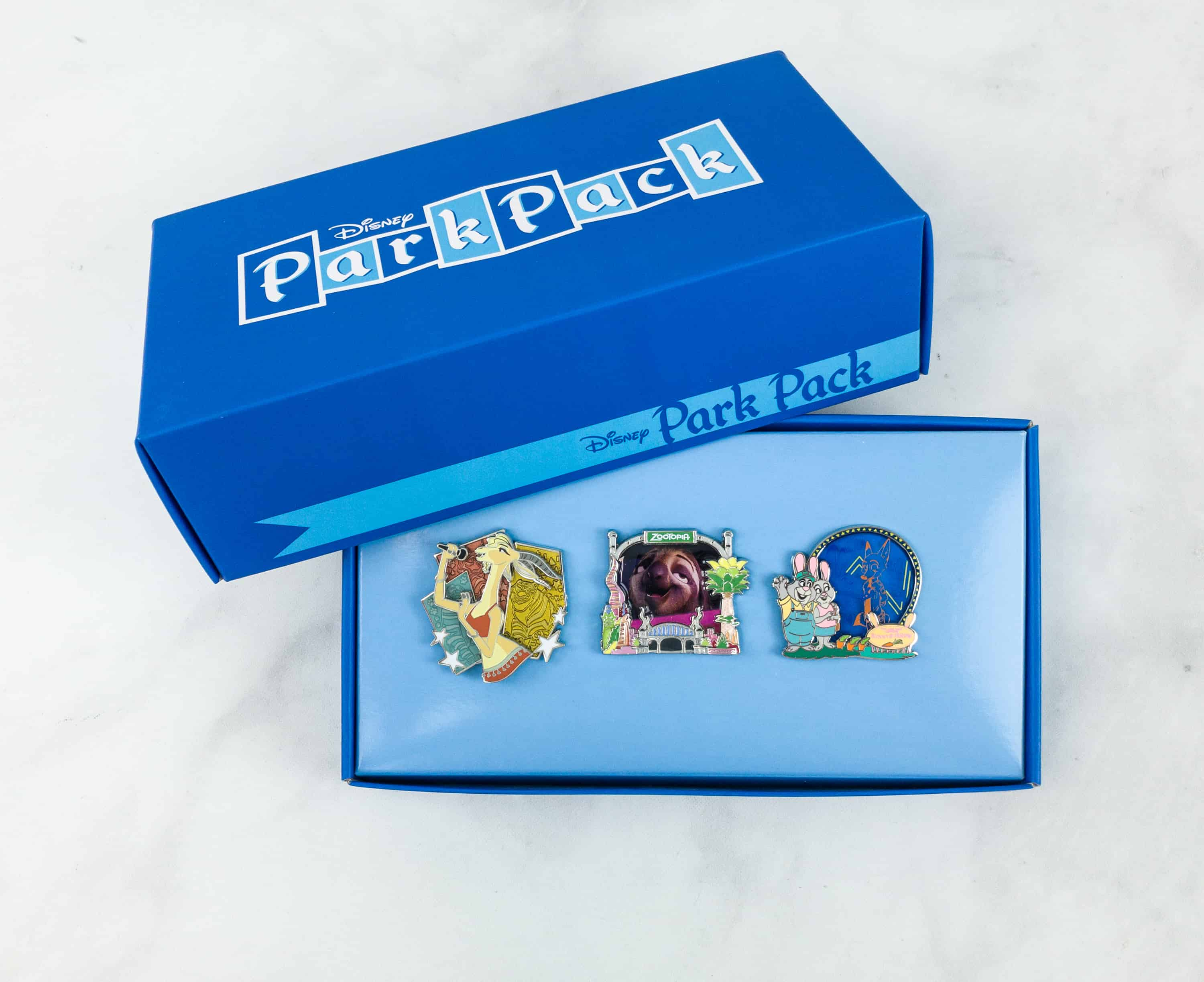 Disney Park Pack Pin Edition 3.0 October 2018 Subscription Box Review