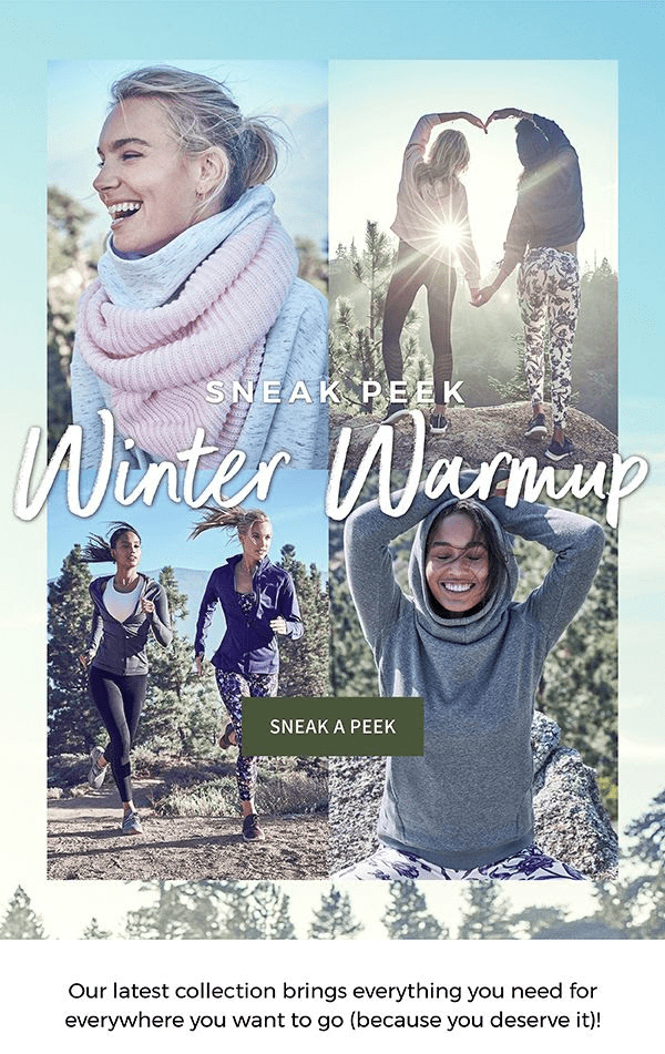 November 2018 Fabletics Sneak Peek + Coupon!