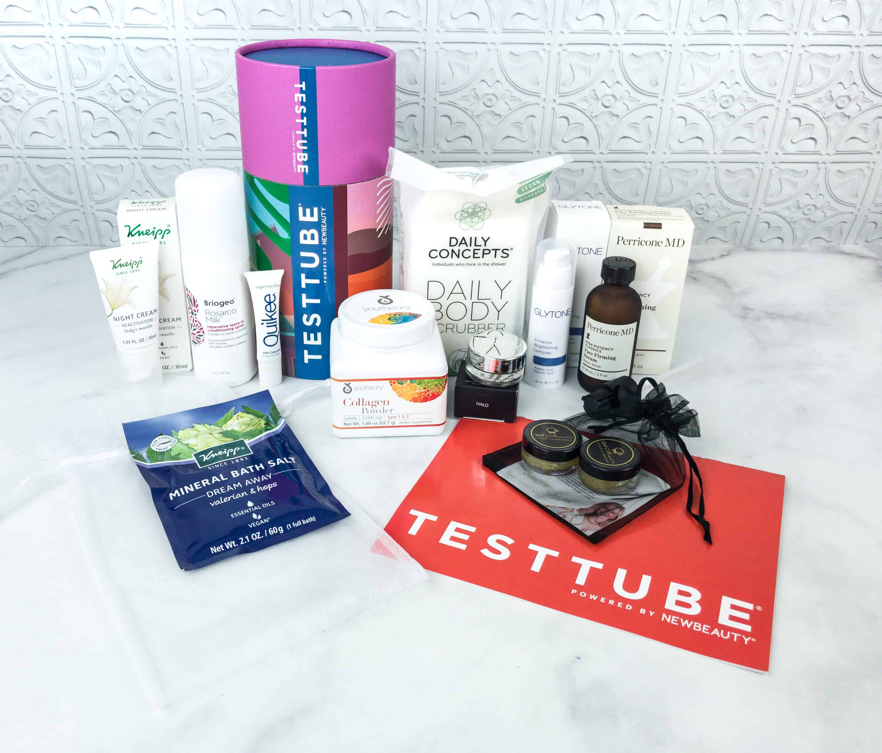 New Beauty Test Tube November 2018 Subscription Box Review
