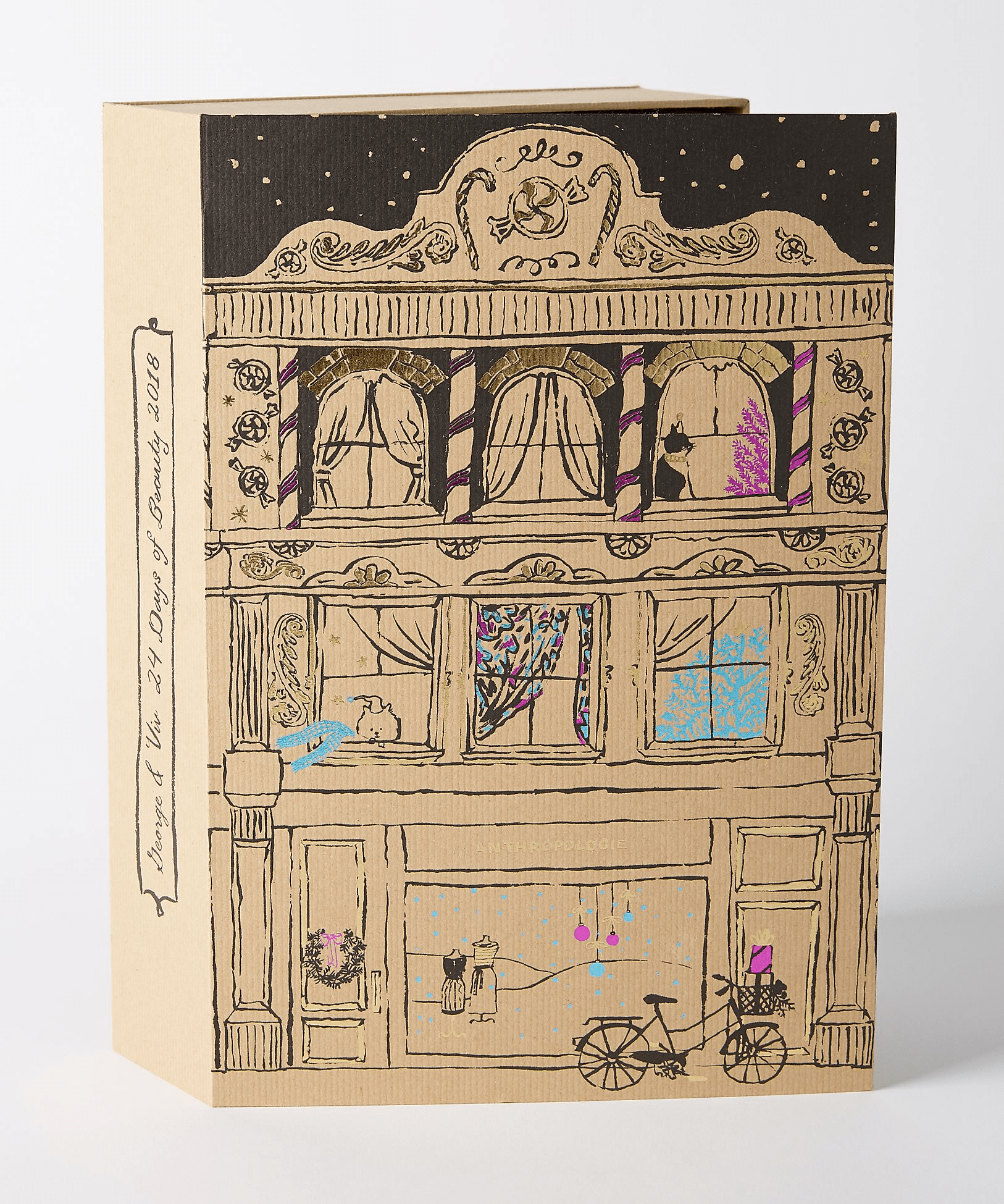 2018 Anthropologie George & Viv Beauty Advent Calendar Available Now + Spoilers!