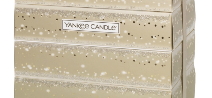 Yankee Candle 2018 Advent Calendar Available Now + Full Spoilers!