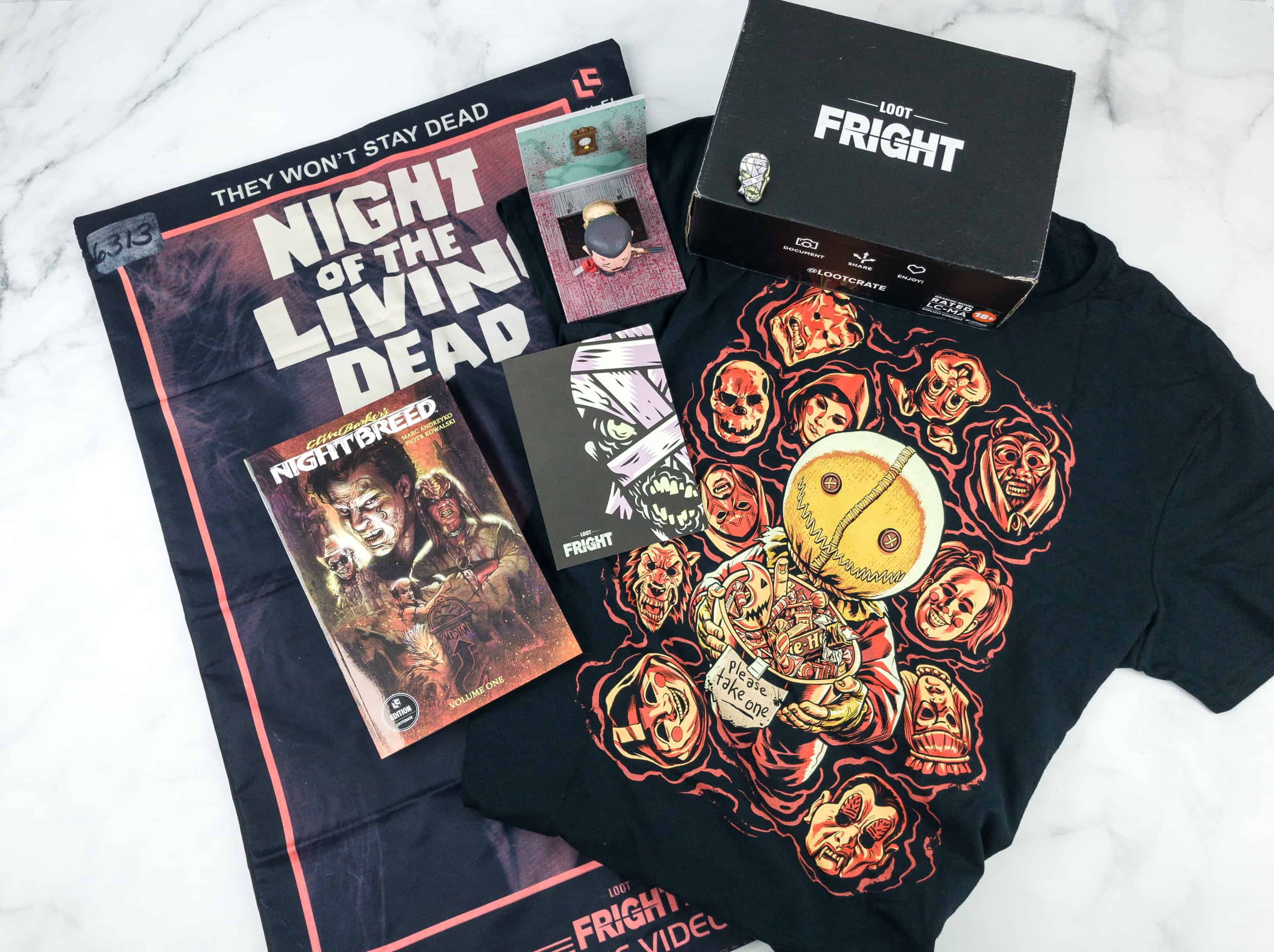Loot Fright September 2018 Subscription Box Review + Coupon