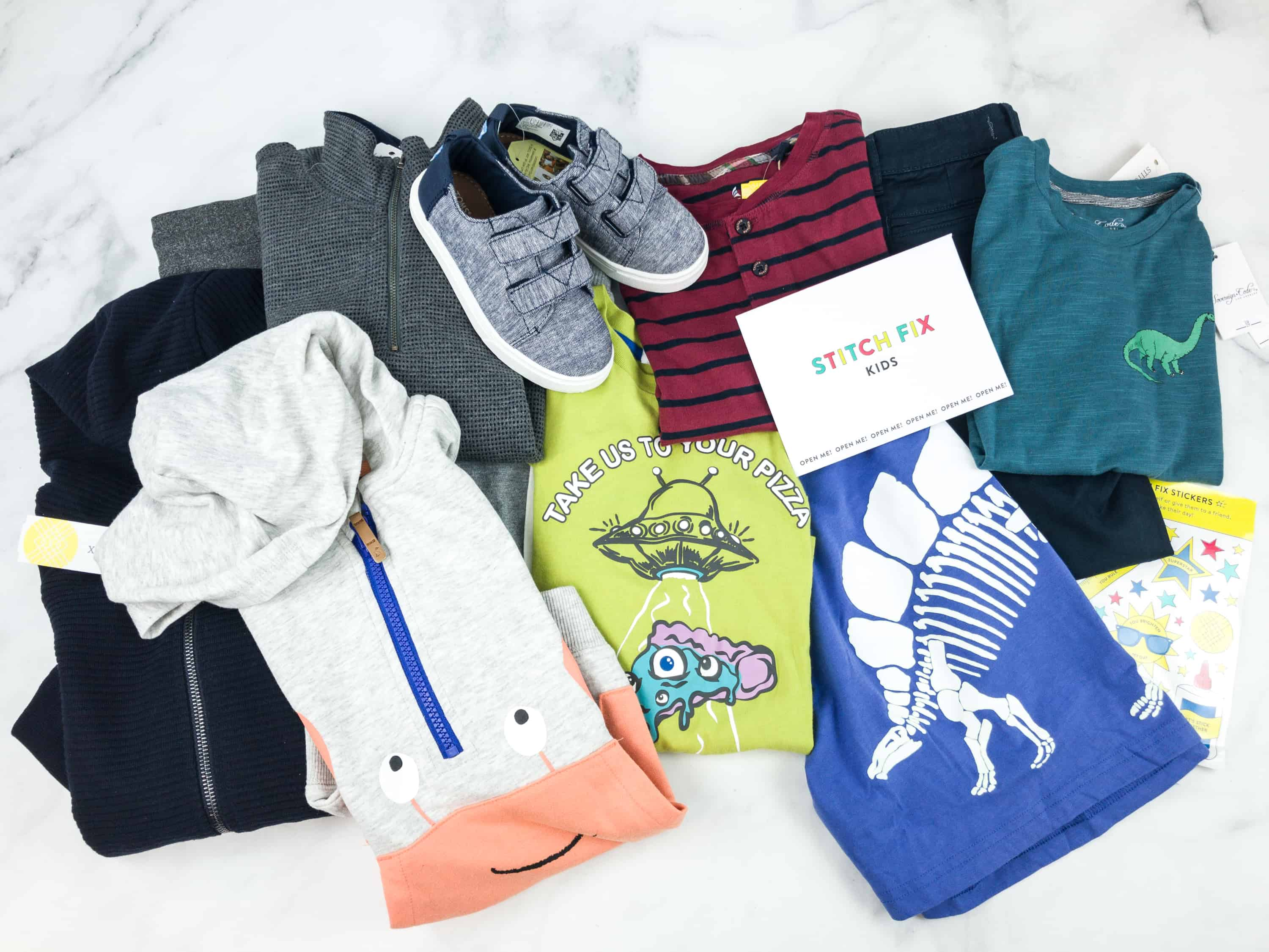 Stitch Fix Kids Review – Little Boys October 2018