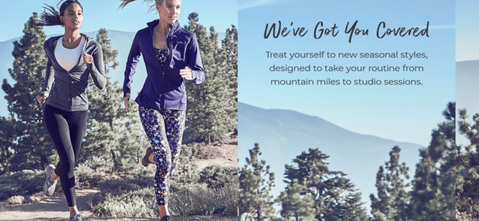 November 2018 Fabletics Selection Time + New Member Offer!