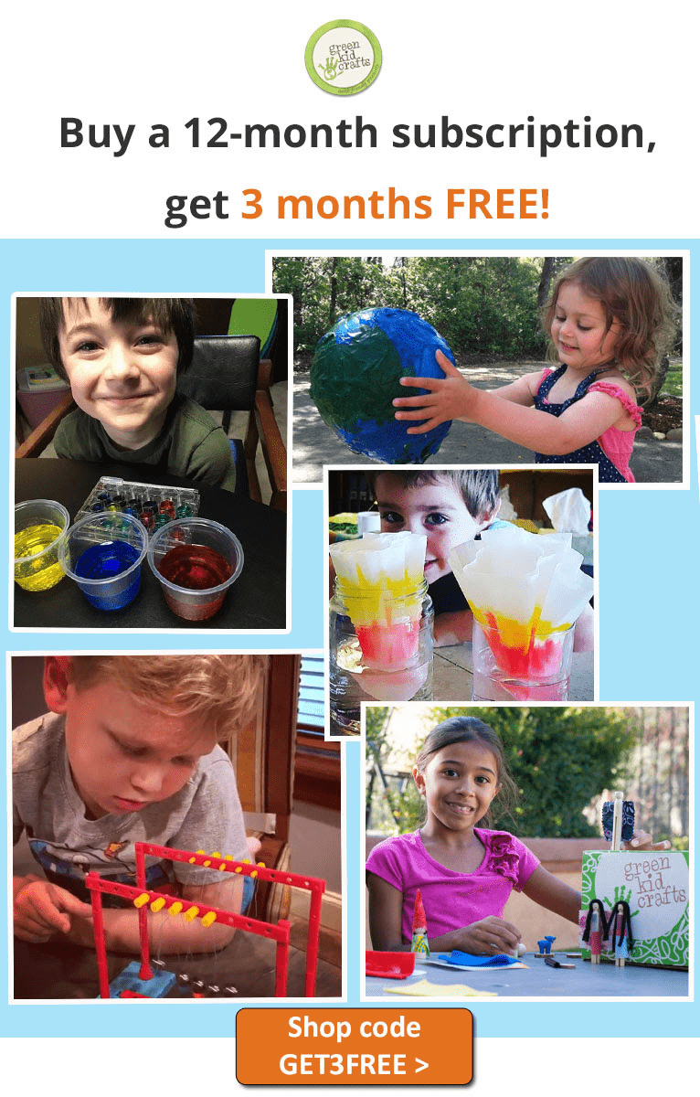 Green Kid Crafts Sale: Get 3 Months Free With Annual Subscription!