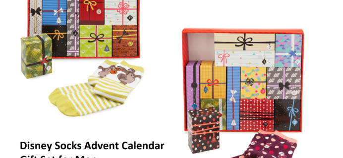 2018 Disney Socks Advent Calendars Available Now!