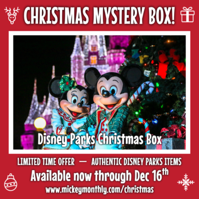 Mickey Monthly Christmas Mystery Boxes Available Now!