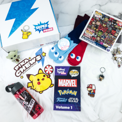 Super Geek Box PRIME October 2018 Subscription Box Review + Coupon