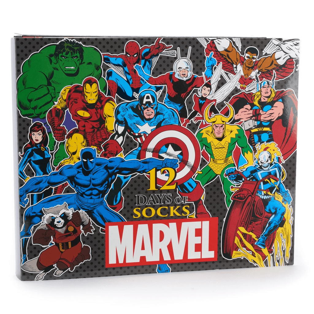 2018 Marvel Socks Advent Calendar Available Now!