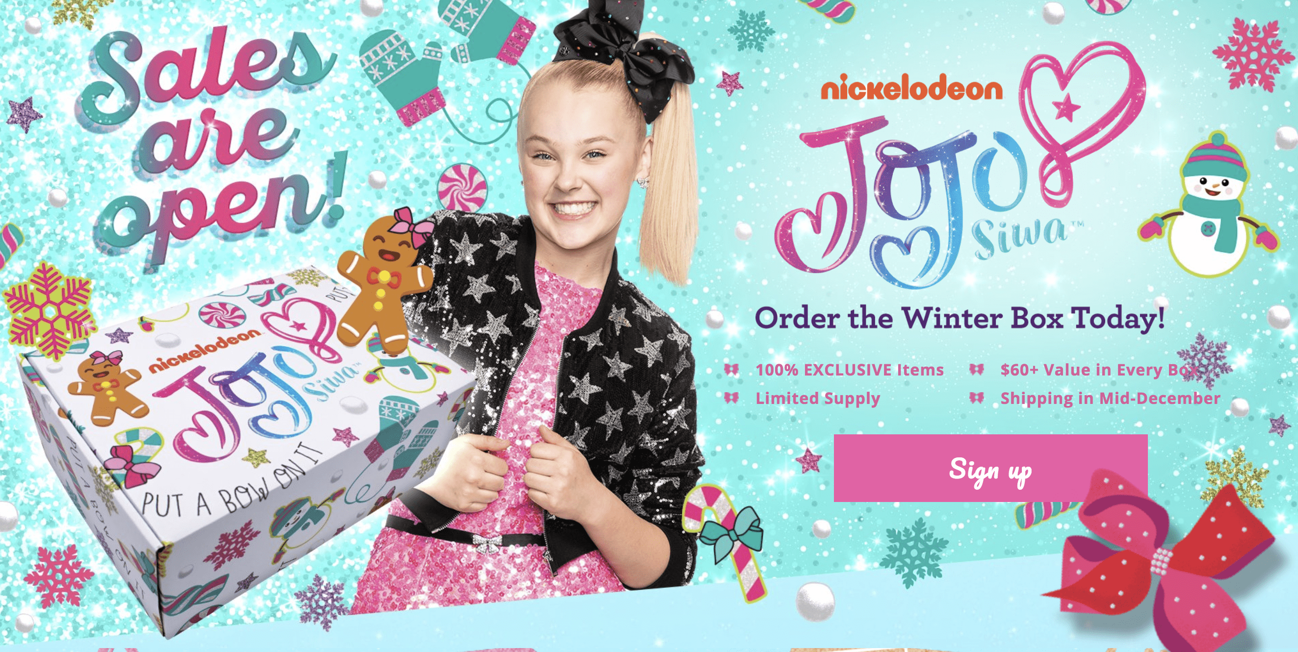 The Jojo Siwa Winter 2018 Box Full Spoilers!