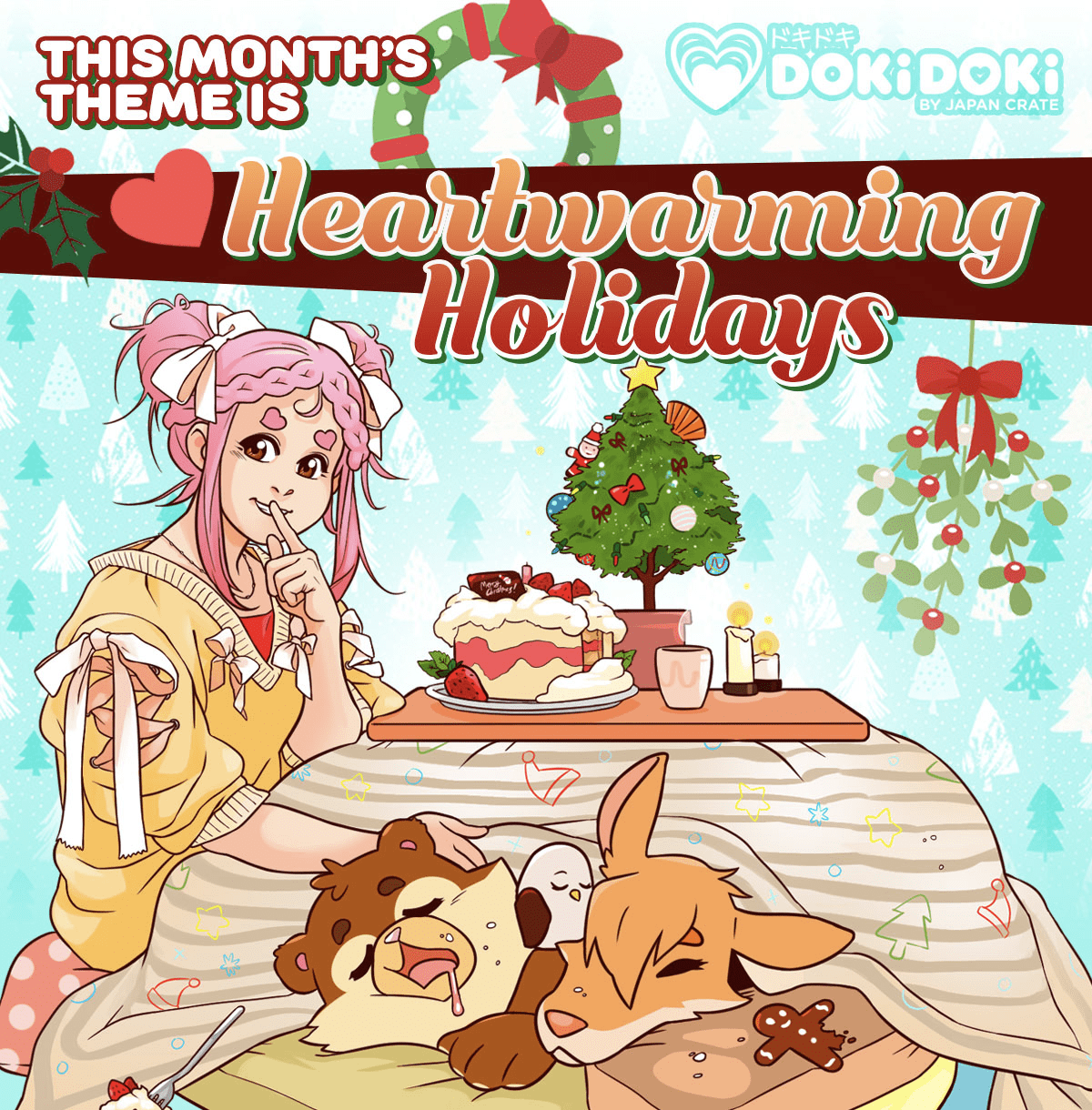 Doki Doki December 2018 Theme Spoilers + Coupon!