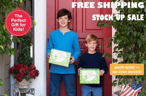 Green Kid Crafts Veteran's Day Sale: Get Free Shipping On Single Purchase Discovery Boxes!