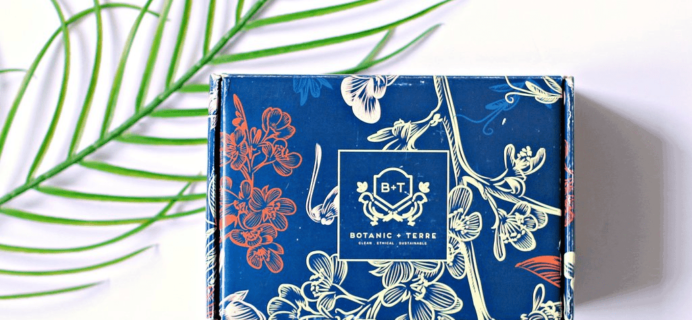 Botanic + Terre Cyber Monday Deal: FREE Bonus Mystery Bundle With First Box!