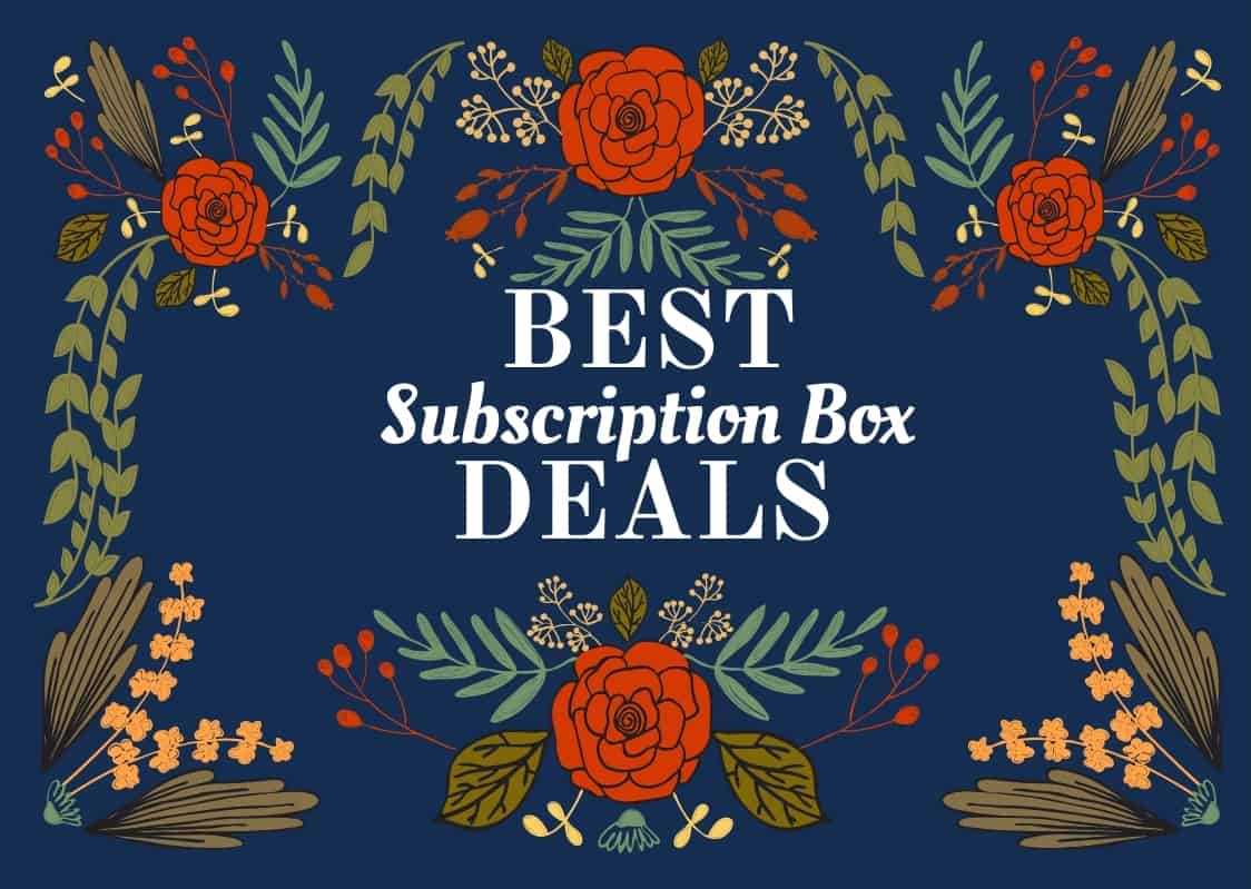 Best Subscription Box Deals This Weekend – November 17 2018!