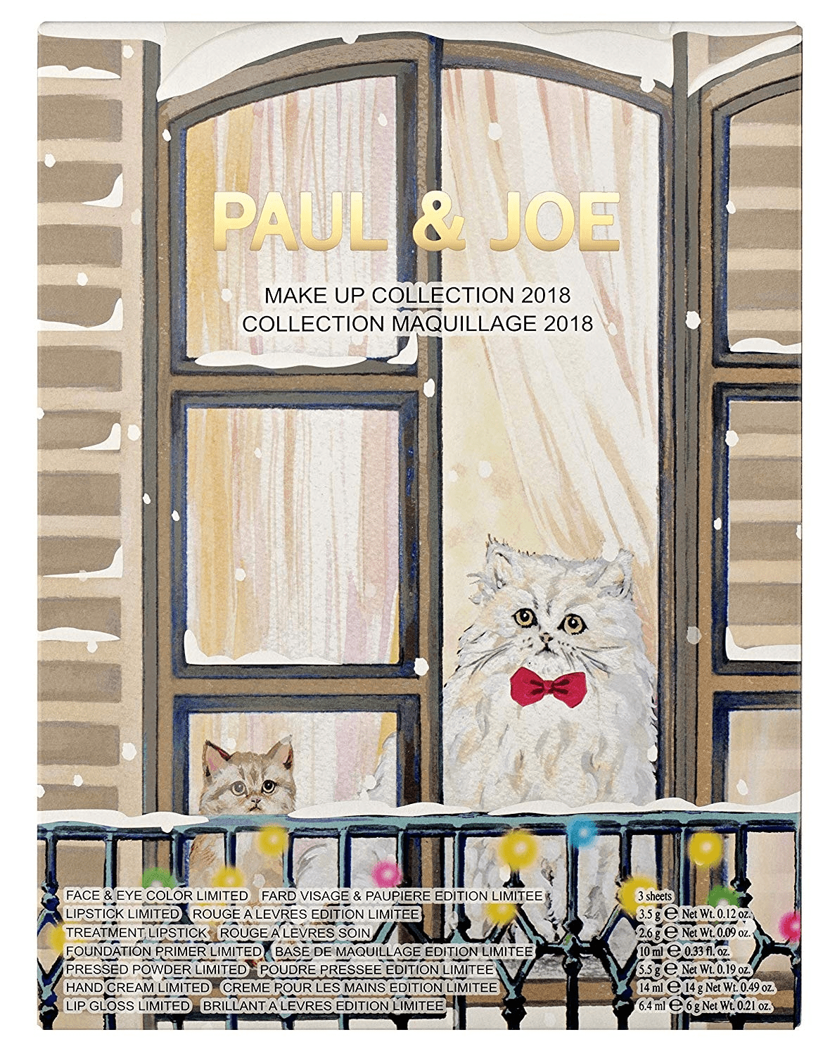 2018 Paul & Joe Makeup Advent Calendar Available Now + Full Spoilers!