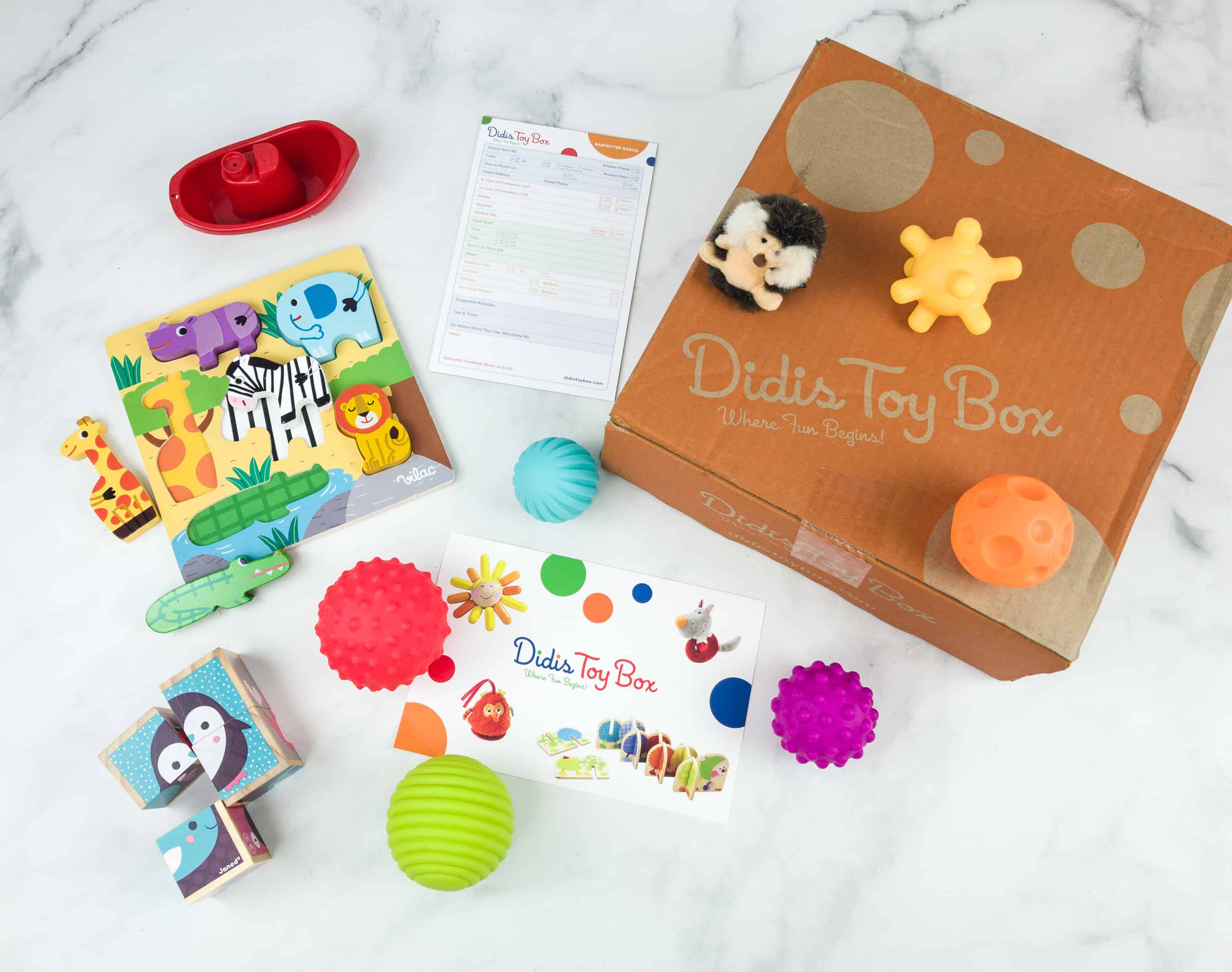 Didis Toy Box November 2018 Subscription Box Review & Coupon